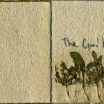 The Good Left Undone Illustrated cover pg, 2009, 5x5, Handmade Paper, Graphite on Paper, & Plants, $800